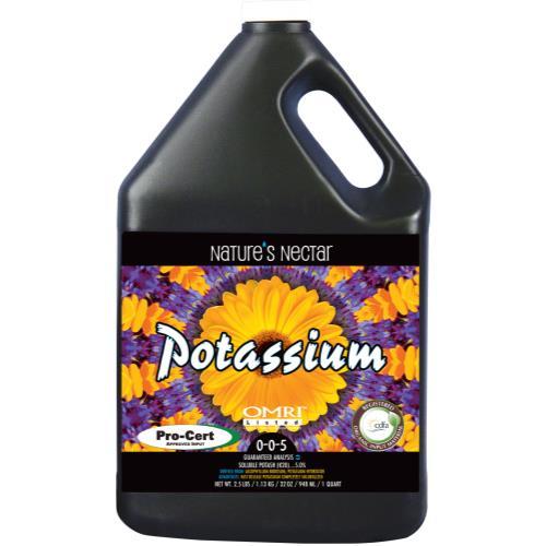 Nature's Nectar Potassium Quart (12/Cs)