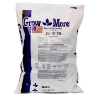 Grow More Soilless (20-10-20) 25 lb