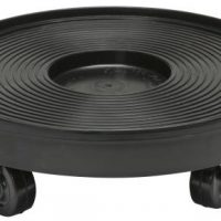 Plant Dolly Black 12 in Round (8/Cs)