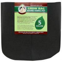 Gro Pro Premium Round Fabric Pot 5 Gallon (110/Cs)