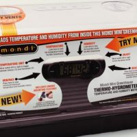 Mondi Mini Greenhouse Thermo-Hygrometer (25/Cs)