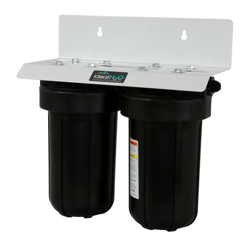 Ideal H2O Commercial De-Chlorinator System w/ Catalytic Carbon Filter - 5,000 GPD