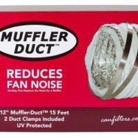 Can-Fan Muffler Ducting 12 in x 15 ft
