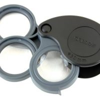 Carson Optical TV-15 TriView - 5x / 10x / 15x Folding Loupe (6/Cs)