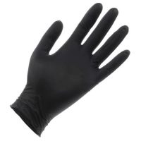 Black Lightning Powder Free Nitrile Gloves Small (100/Box)