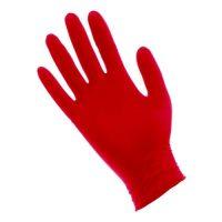 Red Lightning Powder Free Nitrile Gloves Large (100/Box)