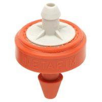 Hydro Flow / Netafim Woodpecker Pressure Compensating Junior Dripper 6.6 GPH (Orange/Grey) (25/Bag)