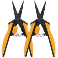 Fiskars Non-Stick Softgrip Micro-Tip Pruning Snip (2/Pk) (6/Cs)