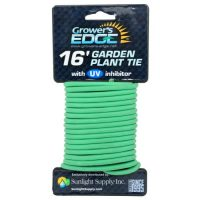 Grower's Edge Soft Garden Plant Tie 5mm - 16 ft (20/Cs)