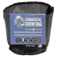 Gro Pro Elite 1 Gallon Black Commercial Grow Bag (125/Cs)